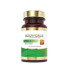 BodyFokus Clean Body Restart - Elevato contenuto di silimarina - 1 flacone