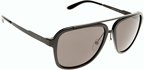 Carrera - Lunette de soleil  97/S    Rectangulaire  - Homme GVB/NR: Polished Black / Matte Black