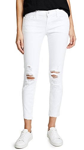 J Brand Jeans Women's 9326 Low Rise Cropped Skinny Jean, Demented, 32 (Pant Rise Low Cropped Womens)