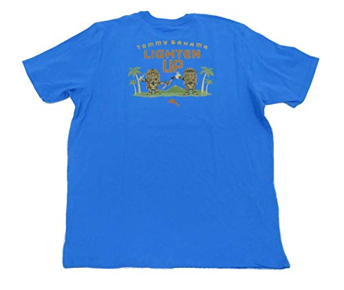 Tommy Bahama Lighten Up XXX-Large Download Blue T Shirt -