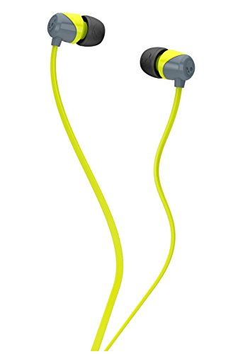 Skullcandy SCS2DUFZ-385 Jib In-Ear Headphone (Lime/Gray)  available at amazon for Rs.599
