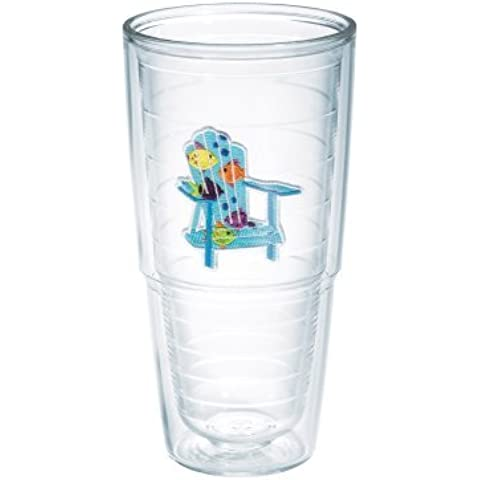 TERVIS Boxed Tumbler, 24-Ounce, Tropical Fish Adirondack Chairs by Tervis