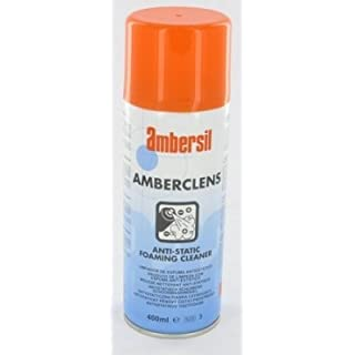 Genuine Amberclens Anti Static Foaming Cleaner 400ml