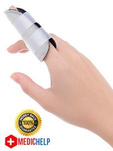 MedicHelp® Einstellbare Fractured/Broken Finger Schiene mit innovativen Schaum für maximalen Komfort | Designed in the UK. Mesh Back Team Hat