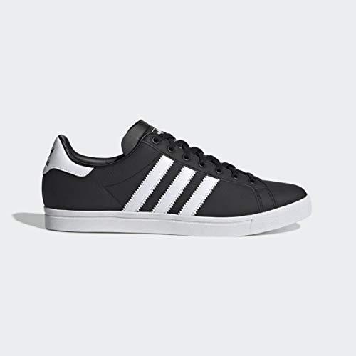 adidas Coast Star, Scarpe da Ginnastica Uomo, Nero Ftwr White/Core Black, 42 2/3 EU