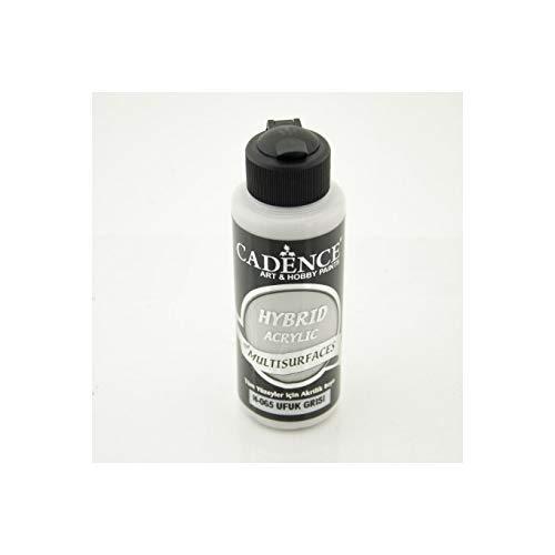 ultisurface | Allzweckfarbe & Universalfarbe für alle Oberflächen geeignet | auf Wasserbasis 120ML (Horizont-Grau) ()