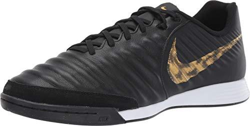 Nike Herren LegendX 7 Academy IC Fußballschuhe Mehrfarbig (Black/MTLC Vivid Gold 077) 43 EU