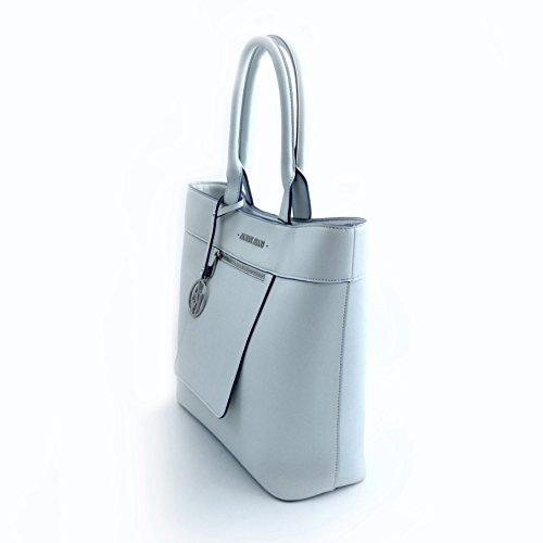 BORSA ARMANI JEANS SHOPPING BAG 922558 CC856 BIANCO