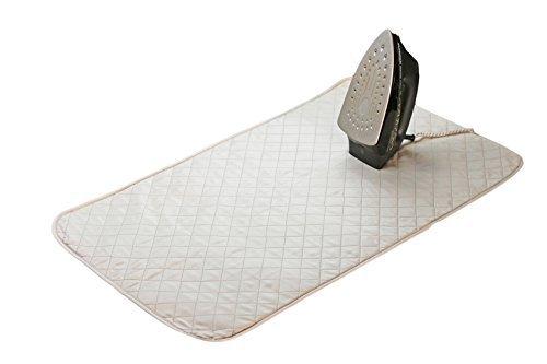 eisen Decke Matte Wäsche Pad gesteppt Waschmaschine Trockner hitzebeständig Pad, Bügelbrett Alternative Bezug Express tragbar Bügeleisen Pad auf Flacher Oberfläche. ()