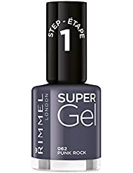 Rimmel London Super Gel Kate Moss Duo Pack Vernis à ongles teinte 12, Nude
