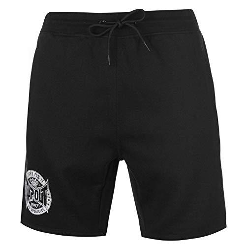 33897f9ecc700 Tapout Short de Sport pour Homme Noir - Noir - Taille XL