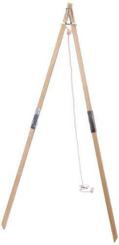 Amazonas Hammock AZ-4030100 Madera Struttura Portante per Amache, Legno, 165x120x160 cm