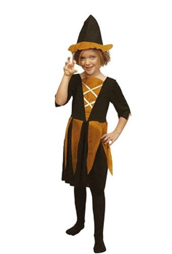 Imagen de cesar m972  disfraz de bruja para niña 5 años  talla 116