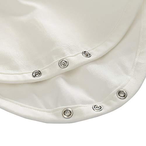 Feoya Jungen Outfits langarm Frühlinganzug Fliege Taufanzug Baby Baumwolle Hemd Hose Set Hochzeit Anzug 6-9 Monaten - 5