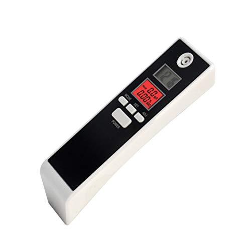fghdfdhfdgjhh Ajuste PFT-661S Digital LCD Alcoholímetro analizador Detector Detector de alcoholemia con luz de Fondo Alerta Audible Policía Conduce a Domicilio