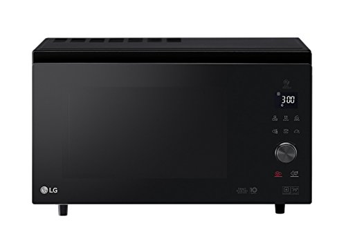 Lg - mj3965bps - Micro-ondes combiné 39l 1100w noir