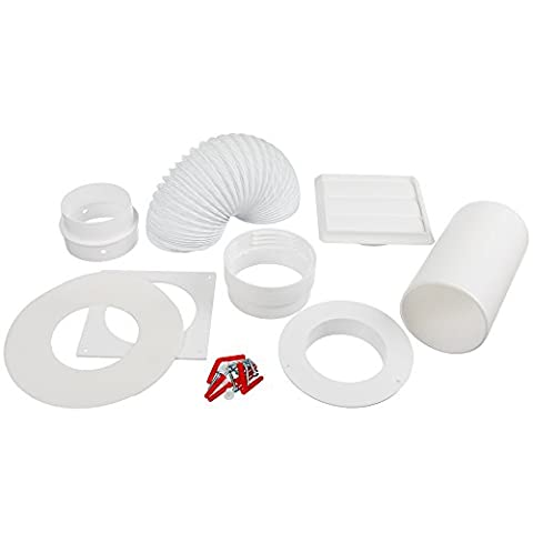 Invero® Universal Round Vent Kit for most makes and models
