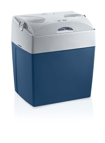 Mobicool V30, tragbare thermo-elektrische Kühlbox, 29 Liter, 12 V und 230 V für Auto, Lkw, Steckdose