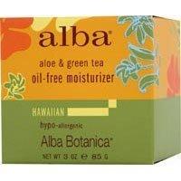 Tea Oil Free Moisturizer (Alba Botanica Aloe & Green tea, Oil-Free Moisturizer, 3 Ounce (Pack of 6) by Alba Botanica)