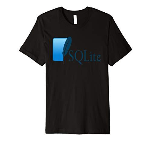 sqlite rdms Bezüglich Datenbank Offizielle Logo T-Shirt