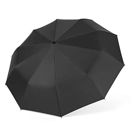Automatischer Regenschirm Transparent Open Close Fold Windproof Umbrella Compact