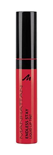 Manhattan Endless Stay Liquid Lip Tint, Farbe 94R Red Tulip, langanhaltende Lippenfarbe mit leichter...