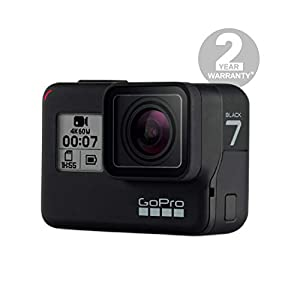 GoPro  HERO7  Schwarz  –  wasserdichte  digitale  Actionkamera  mit  Touchscreen,  4K-HD-Videos,  12-MP-Fotos,  Livestreaming,  Stabilisierung