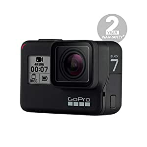 GoPro CHDHX-701-RW Hero7 Camera (Black) with Shorty - Bundle Pack
