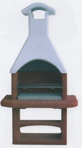 barbecue beton fuoco cemento prefabbricato CM.L110xP65xH214