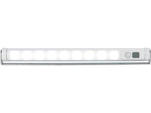 Lunartec projecteur lED automatique avec détecteur de mouvement blanc