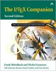 The LaTeX Companion 2nd (second) edition Text Only