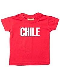 b4296c701 Shirtstown Bebé Niños Camiseta Fútbol Camiseta de País Chile