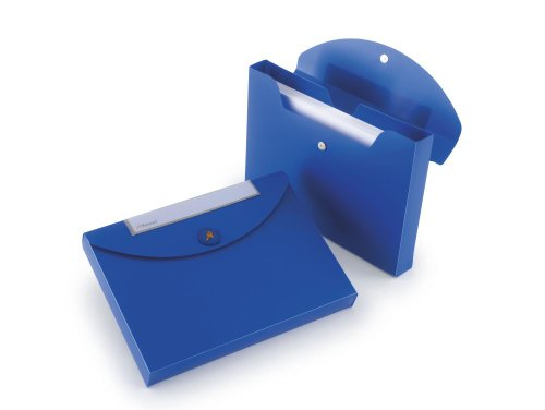 Rexel Dokumentenmappe Job Box Optima/2102482 B330xH240xT40 mm blau bis 400 Blatt