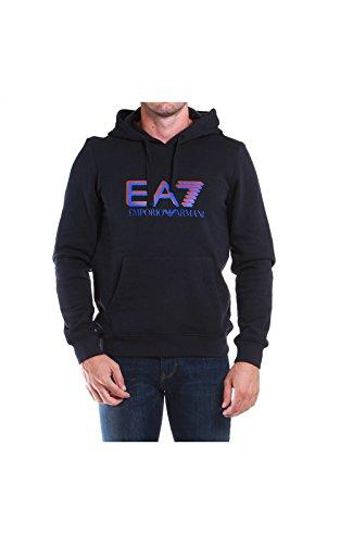 EA7 Emporio Armani 6XPM64 PJ07Z 1578 felpa blu notte