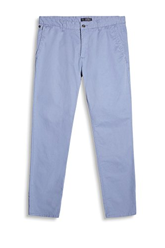 Esprit 047ee2b028, Pantalon Homme Bleu (Blue Lavender)