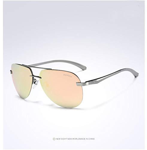 YLZERO Die polarisierte Sonnenbrille-Legierung der Art und Weisemänner, die Sportfischengläser 100% UV400 Schutzschutzbrillengläser fährt
