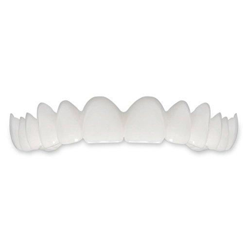 Blaward Kosmetische Zähne,Snap On Smile Sofortiges Lächeln,Zahnspangenreinigung,Mund-Zahnpflege,Körperpflege