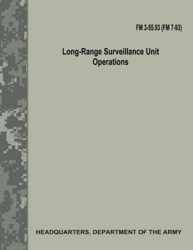 Long-Range Surveillance Unit Operations (FM 3-55.93/FM 7-93) Surveillance Unit