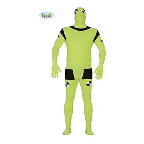 Crash Test Dummy Kostüm für Herren, Größe:L