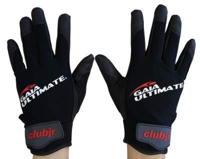 GAIA Ultimate und Disc Golf Handschuhe - schwarz/grau, Größe XL