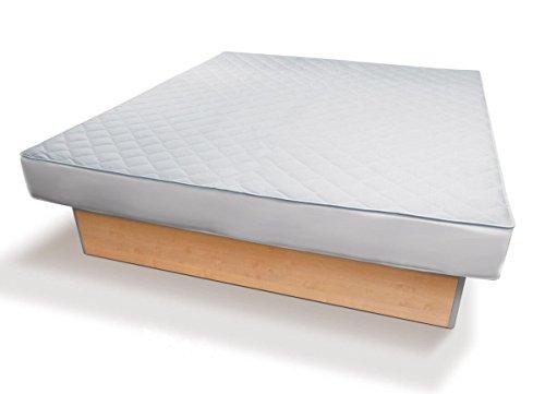 Traumreiter Wasserbett-Auflage Wasserbett-Bezug Allergiker Matratzen-Bezug Ohne Wasserentleerung Jedes Wasserbett (160 x 200 cm)
