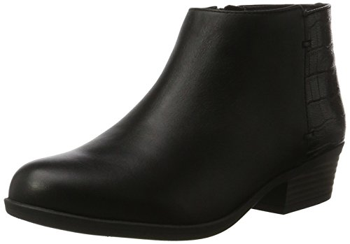 Clarks Damen Addiy Zora Combat Boots, Schwarz (Black Leather), 37.5 EU (Womens Boots Cowboy)