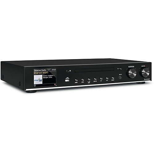 TechniSat DIGITRADIO 140 – Multiroom Hi-Fi-Tuner – Digitales Internetradio mit Wi-Fi Audio-Streaming-Funktion, Bluetooth und CD-Player