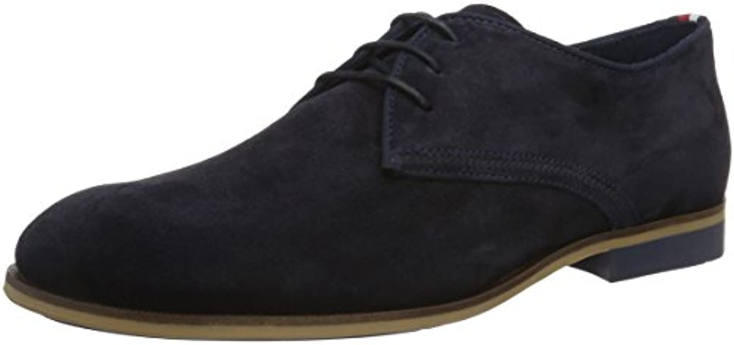 Tommy Hilfiger Herren Casual Dressy Suede Lace Up Derby