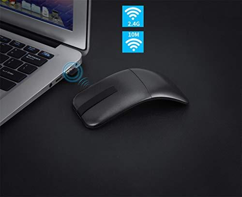 jieGREAT  Drahtlose Mäuse Räumungsverkauf  , 2,4 GHz USB Wireless Ergonomic Design Mouse 1200DPI 3D Scroll Faltbare Mäuse -