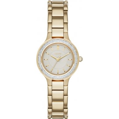 DKNY (DNKY5) Women's Quartz Watch with Gold Dial Analogue Display and Gold Stainless Steel Bracelet NY2392