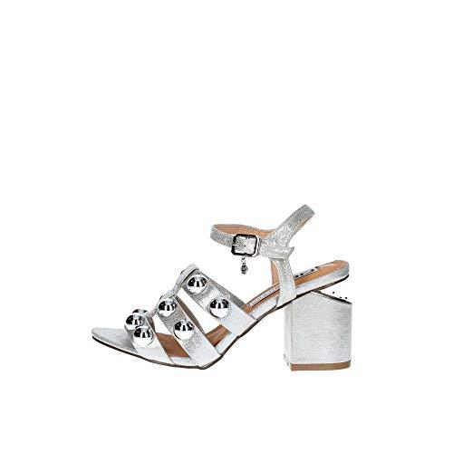 06 MILANO 0653 Sandalo Donna Argento 40