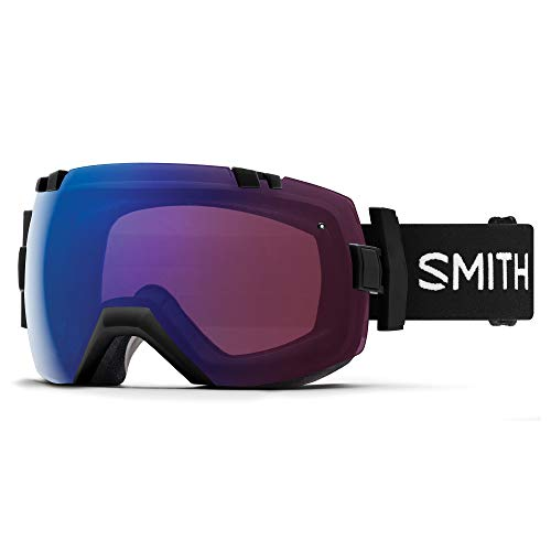 Smith Unisex I/Ox Skibrille Erwachsene L Schwarz/Rosa (photochromic Flash) -