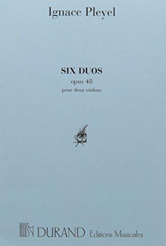6 Duos Op 48 2 Violons