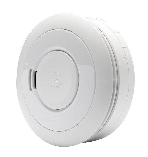 Ei Electronics Rauchmelder mit Lithiumbatterie Ei650 Brandmelder mit oder ohne Magnetklebepad (5...